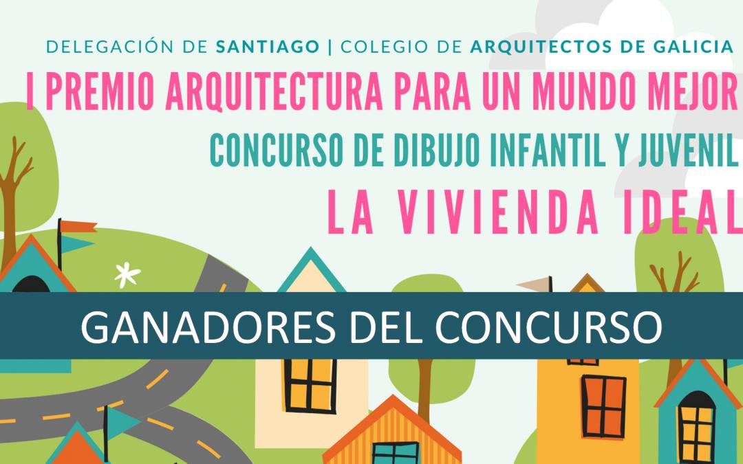 """GANADORES Concurso Dibujo Infantil y Juvenil """"La vivienda ideal"""""""